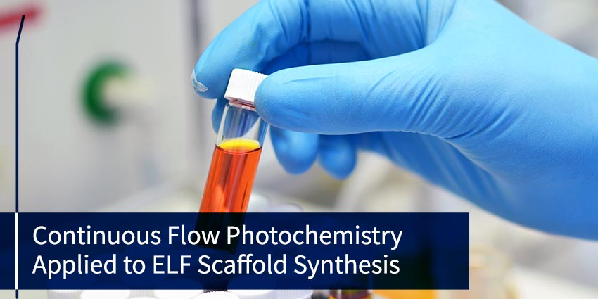 Continuousflowphotochemistryappliedtoelfscaffoldsynthesis 72dpi